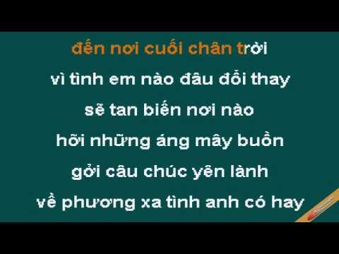 Ang May Buon Karaoke - Cẩm Ly - CaoCuongPro
