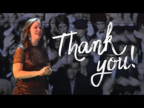 My Thank You Speech to YOU