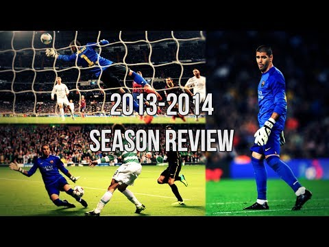 Víctor Valdés | Season Review 2013/2014 - Best Saves - Welcome to Manchester United