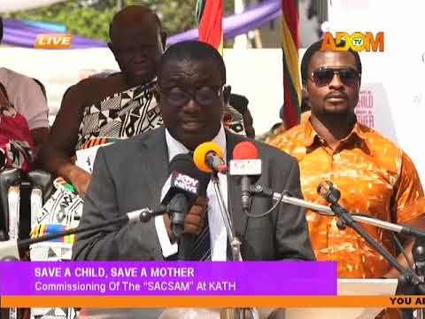 Commissioning Of KATH MBU on Adom TV (19-1-18)