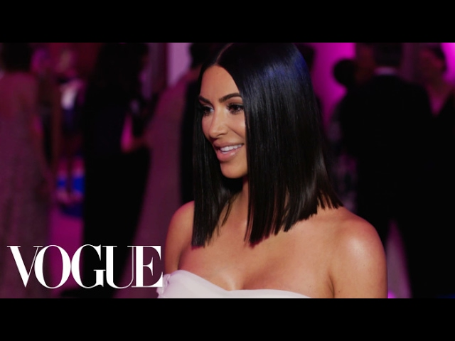 Kim Kardashian West on Her Simple Met Gala Look and Kanye West | Met Gala 2017
