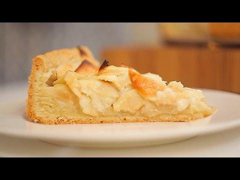Цветаевский пирог с яблоками - кулинарный рецепт