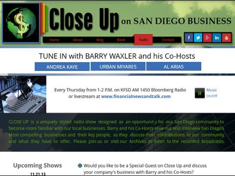Close Up on San Diego Business 10.17.13 Broadcast