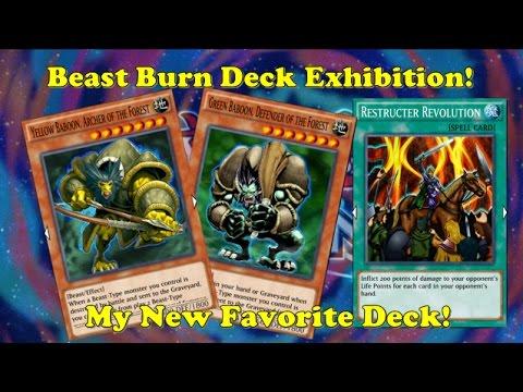 Yu-Gi-Oh Duel Links - Beast Burn Deck Exhibition (Twitch VOD)