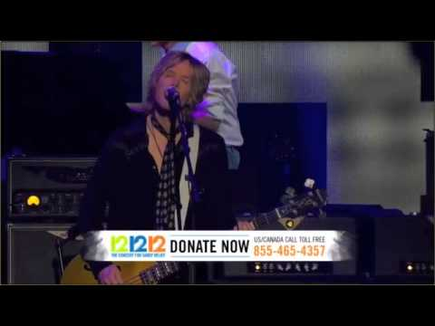 Paul McCartney Live & Let Die 12.12.12. Sandy relief concert HD