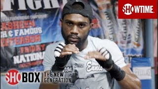 DAY IN CAMP: Jaron Ennis | SHOBOX: THE NEW GENERATION