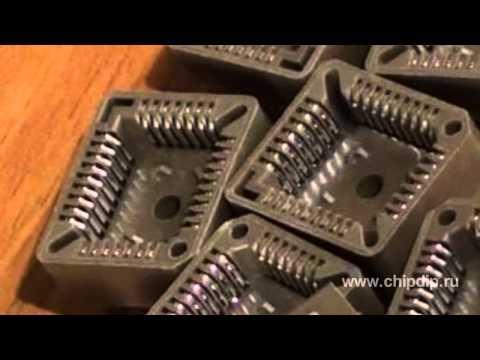 PLCC панельки для микросхем
