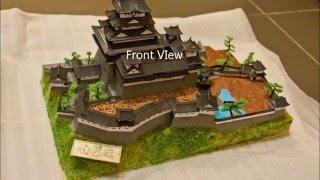 Himeiji Castle (姬路城) Plastic Model Building Session (1/380 scale from Doyusha)