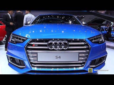 2017 Audi S4 - Exterior and Interior Walkaround - 2015 Frankfurt Motor Show