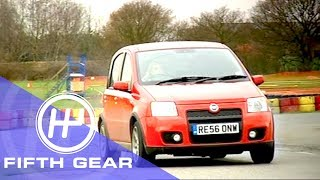 Fifth Gear Fiat Panda Vs Ferrari смотреть