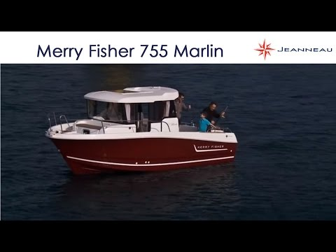 Merry Fisher 755 Marlin - By Jeanneau