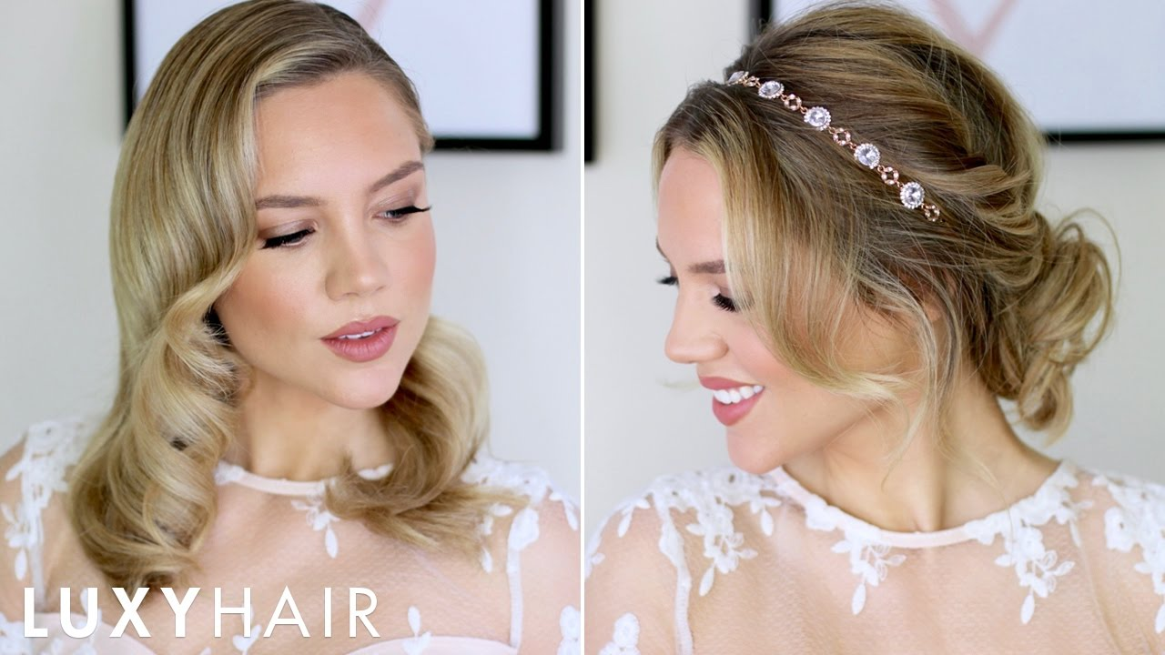 beautiful prom & wedding hairstyles