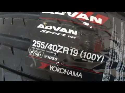 Шины летние Yokohama XL Advan Sport V105S 255/40 ZR19