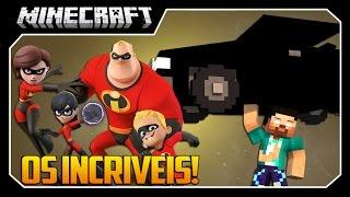Minecraft - OS INCRÍVEIS!! (PODERES ÉPICOS!) Mod: The Incredibles
