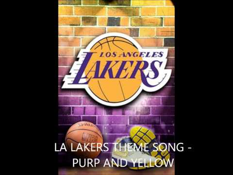 La Lakers Themesong ft. Snoop Dogg, Wiz Khalifa, and the Game - Purp and Yellow