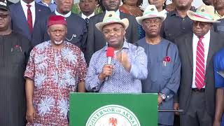 Press Conference: Akwa Ibom State House of Assembly Siege