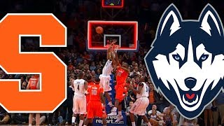 Syracuse vs UConn - The 6-OT Epic
