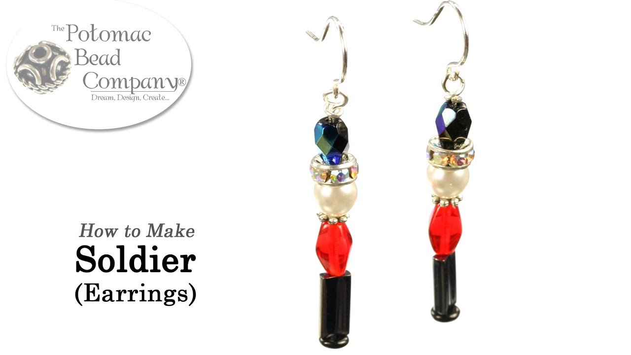 8da4d86ed How to Make Toy Soldier Earrings - YouTube