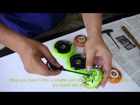 Clean Skates - Taking apart skates and wheels