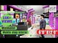 Mobile Shop Interior Design | Walk through Video | Architecture | Zero Error Design