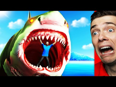 Hunting ZOMBIE MEGALODON SHARK Goes WRONG In GTA 5 (Scary)