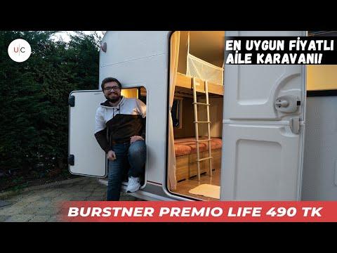 Bürstner Premio Life 490 TK | U CARAVAN | KARAVAN TANITIMI