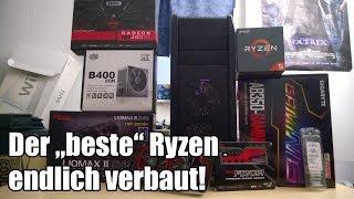 """Ein PC entsteht - 800,- EUR Ryzen 5 """"Rundum Sorglos"""" - System!"""