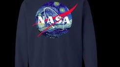 Van Gogh Starry Night NASA Shirt, Hoodie, Tank