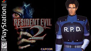 Resident Evil 2 (PlayStation) - (Longplay - Leon Scott Kennedy | Scenario A | Normal Difficulty)