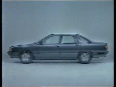 Audi 100 quattro Werbung Ski Schanze Skischanze Type 44 commercial 80s spot ski jump procon-ten