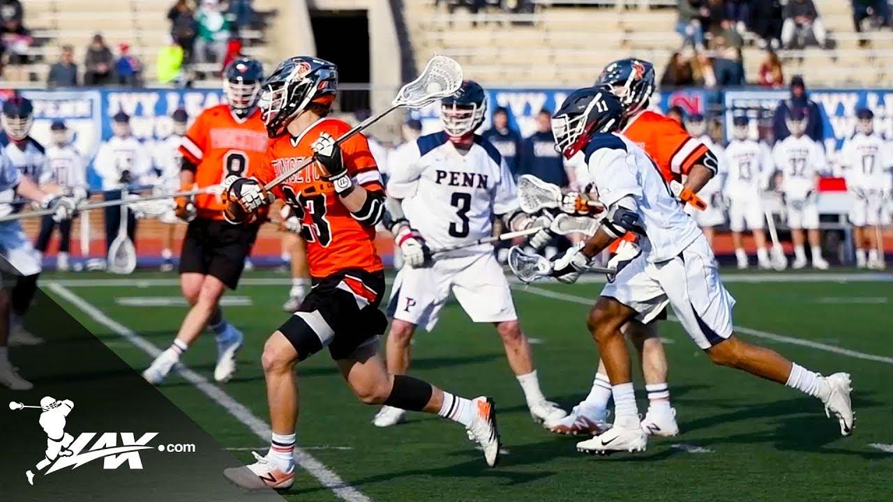 Princeton vs UPenn   2019 College Highlights