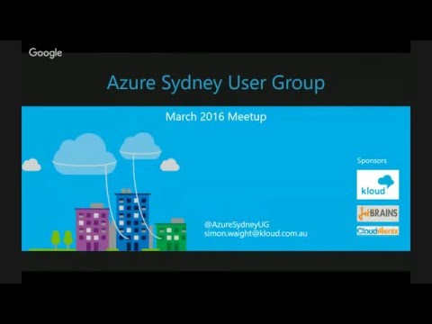 March 2016 Azure Sydney Meetup: DEV: Azure Mobile Services - Lessons from the Trenches