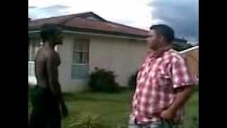 Armidale Street Fight Fletcher Vs Nick