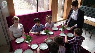 Воспитанники центра социальной адаптации получили возможность пройти обучение в школе хороших манер
