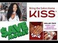 $$$ HUNDREDS of Nail Salon DOLLARS SAVED buying DOLLAR TREE & KISS PRODUCTS Artificial Nails!