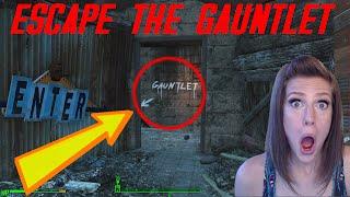 Starting Nuka World and RUNNING THE GAUNTLET Fallout 4 DLC Gameplay Barbara Plays ...