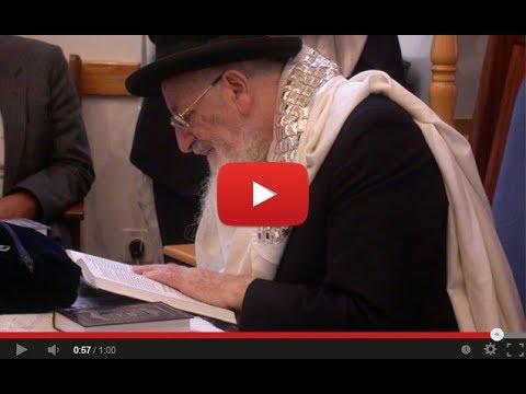 כמה מילים על יום הקדיש הכללי מהרב מרדכי אליהו