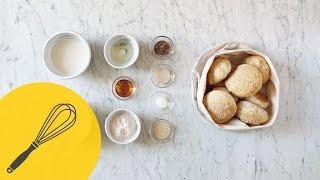 Hausgemachte Vegane Burger Brötchen   Vegan Backen und Kochen   Küchentipp   How To