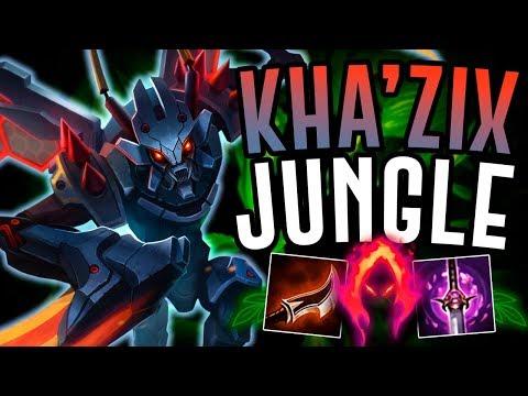 DARK HARVEST KHAZIX JUNGLE DAMAGE IS BROKEN!! - KhaZix Jungle - League of Legends