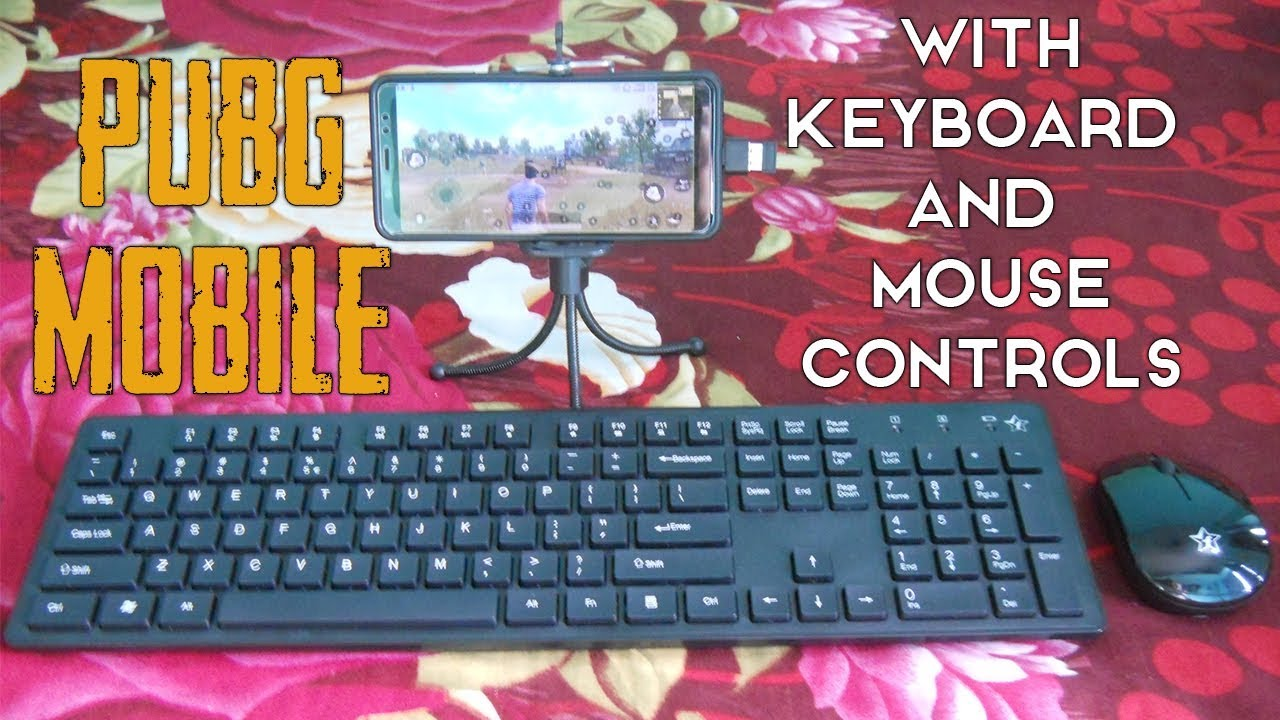 How to Play PUBG Mobile with Keyboard and Mouse on Android Phone