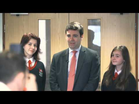 Andy Burnham Visits Bedford
