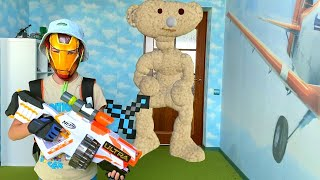 Nerf Game Nerf VS Bear Roblox Нерф против медвядя из Роблокса