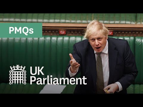 Prime Minister's Questions: 7 October 2020