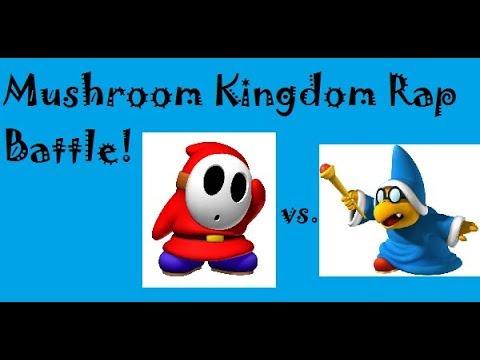 Shy Guy vs Kamek Rap Battle!