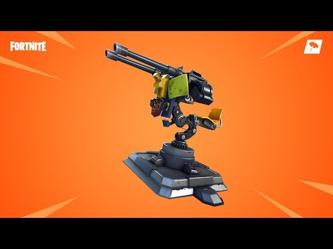 ???? *NEW * MOUNTED MACHINE GUN in Fortnite Battle Royale