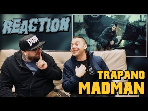 MADMAN - TRAPANO ( prod. Pherro ) | RAP REACTION 2017 | ARCADE BOYZ
