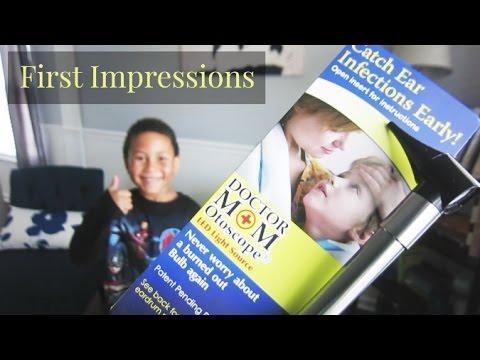 First Impression: Dr.  Mom Otoscope