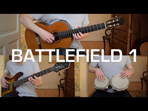 Battlefield 1 - Main Theme (Acoustic Classical Guitar and 12-string Guitar Cover)