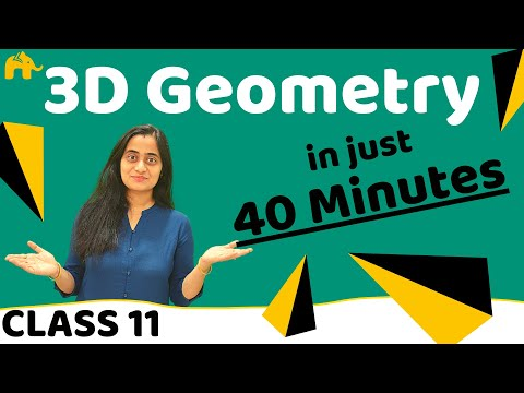 3d Geometry Class 11| CBSE Maths 3 Dimensional Geometry