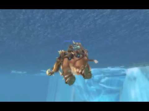 WoW 3.1 PTR: Swimming Mammoth